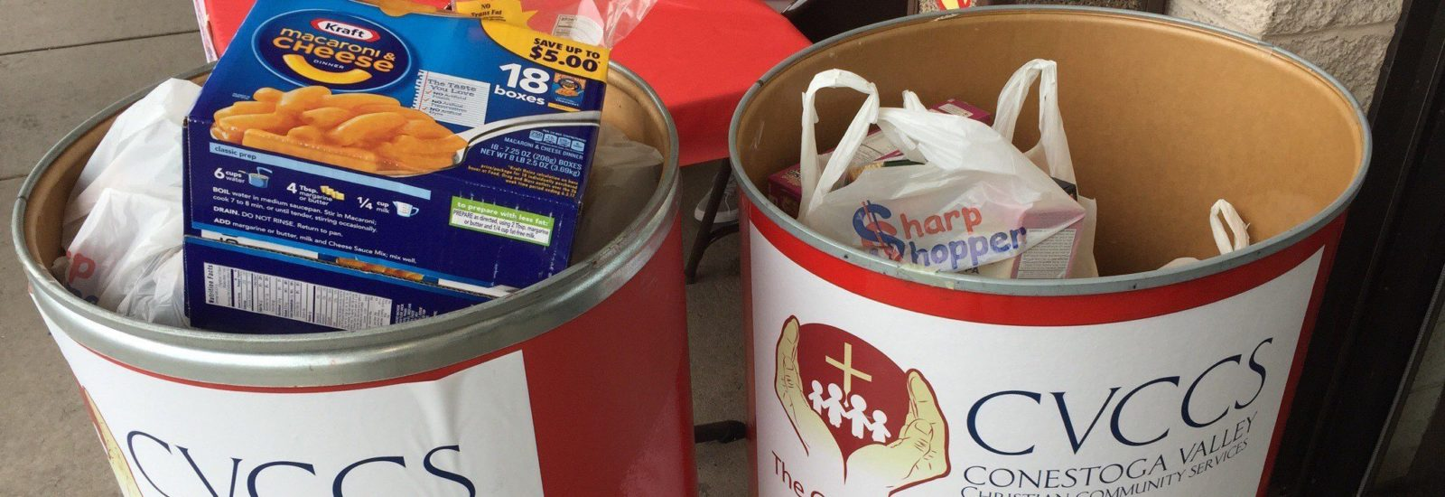 Food drive containers